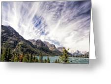 Clouds Over Wild Goose Island Greeting Card
