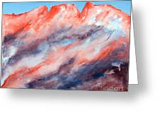 Clouds Roll In Greeting Card