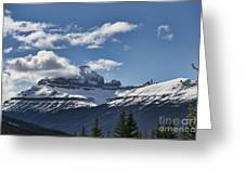 Clouds Sky Mountains Greeting Card