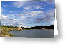 Cloudscape Panorama Greeting Card