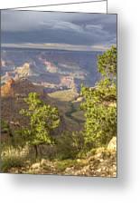 Cloudy Bright Angel Trail II Greeting Card