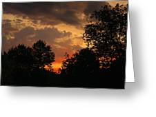Cloudy Dawn Greeting Card