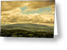 Cloudy Day In New Hampshire Greeting Card