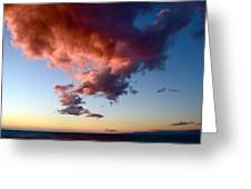 Cloudy Perspective Greeting Card