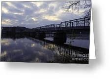 Cloudy Sunrise Greeting Card