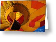 Clovis Hot Air Balloon Fest 3 Greeting Card
