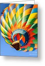 Clovis Hot Air Balloon Fest 5 Greeting Card