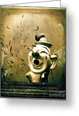 Clown Games  Greeting Card by Colleen Kammerer
