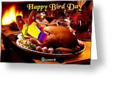 Clown Turkey Greeting Card