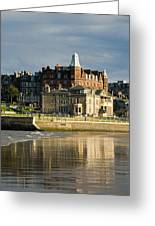 Club House St Andrews  Greeting Card