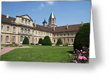 Cluny Abbey - Burgundy Greeting Card