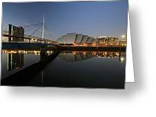 Clydeside Reflections  Greeting Card