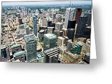 Cn Tower View Greeting Card