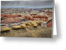 Coal Mine Canyon Greeting Card by Robert Jensen