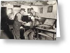 Coal Mine Hospital, C1917 Greeting Card