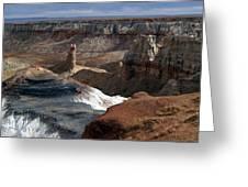 Coal Mine Mesa 09 Greeting Card