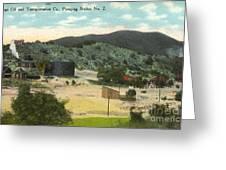 Coalinga Oil And Transportion Co. Pumping Station No. 2 Circa 1910 Greeting Card