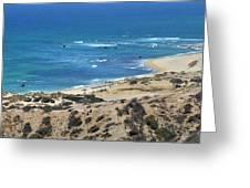 Coast Baja California Greeting Card