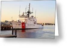 Coast Guard Cutter Greeting Card