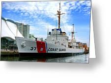 Coast Guard Cutter Taney Greeting Card