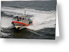Coast Guard In Action Greeting Card