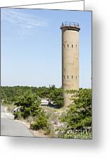 Wwii Coast Guard Tower At Cape Henlopen State Park In Delaware Greeting Card