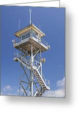 Coast Guard Tower Greeting Card