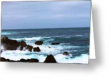 Coast Of California # 20 Greeting Card
