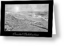Coastal Calibration Greeting Card