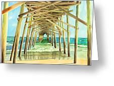 Coastal Cathedral  Greeting Card