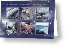 Coastal Christmas Greeting Card