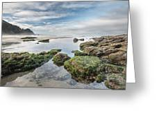 Coastal Colors Greeting Card by Jon Glaser