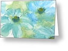 Coastal Cosmos 1 Greeting Card
