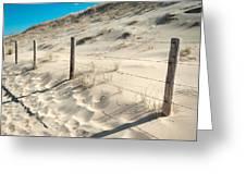 Coastal Dunes In Holland 3 Greeting Card