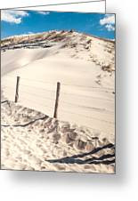 Coastal Dunes In Holland Greeting Card