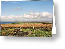Coastal Landscape County Mayo Greeting Card