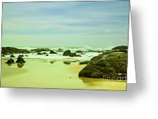 Coastal Landscape Of Sri Lanka Greeting Card