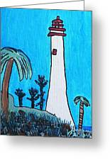 Coastal Lighthouse Greeting Card
