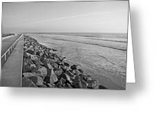 Coastal Lines Greeting Card