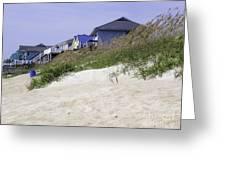 Coastal Living In Topsail Beach Nc Greeting Card