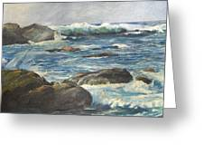 Coastal Maine Greeting Card
