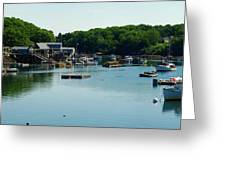 Coastal Maine Bay Greeting Card