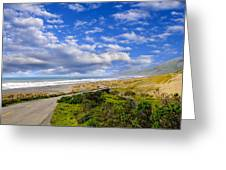 Coastal Road Greeting Card