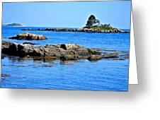 Coastal Route 1 In Maine Greeting Card