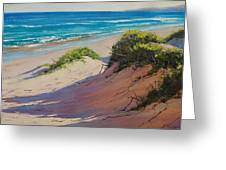 Coastal Sand Greeting Card by Graham Gercken