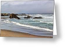 Coastal Serenity  Greeting Card
