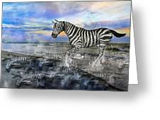 Coastal Stripes I Greeting Card by Betsy Knapp