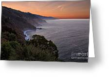 Coastal Sunrise II Greeting Card