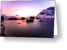 Coastal Sunrise Greeting Card