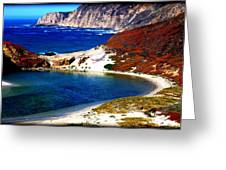 Coastal Vista  Greeting Card